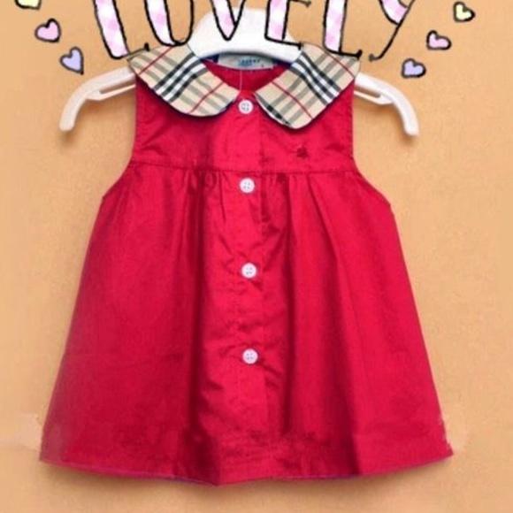 c733e2934e954 Burberry Dresses | Nwt Toddler Girl Sleeveless Dress | Poshmark